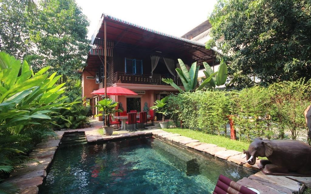 Now you can enjoy at homestay in Siem reap
